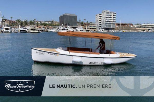 Vision Marine Technologies présent au salon Nautique de Paris