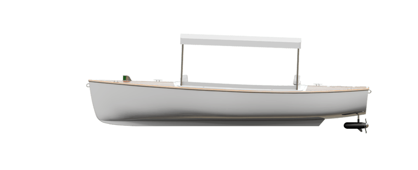 Vision Marine Technologies | Quiétude 156 side