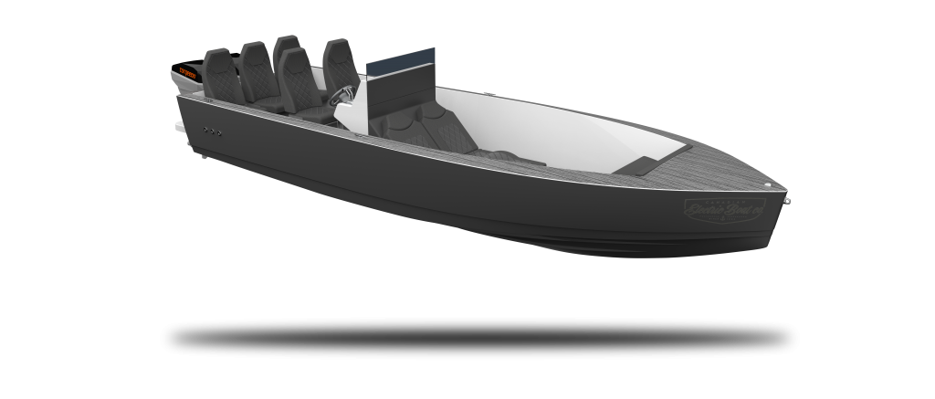 Vision Marine Technologies | Phoenix 290 side view